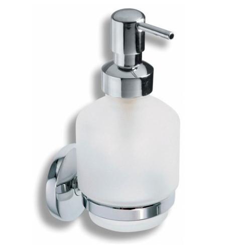 Дозатор для мыла стекло Ferro Novatorre 6150.0 хром