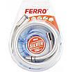 Шланг для душа 150 см Ferro W40 хром, фото 2