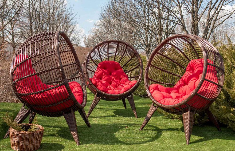 Кресло из ротанга Mango. Украинские конструкции.