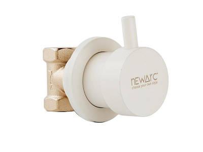 Вентиль Newarc Maximal 101632W, білий