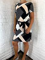 Платье женское черное Аbstraction ОПТ