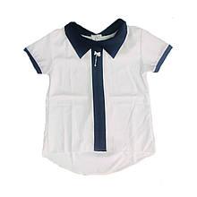 Школьная блуза для девочки, 122см
