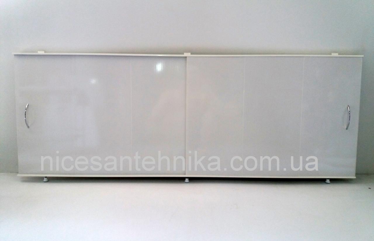 Экран для ванны 160*60 см. алюминиевый ЕВА-3