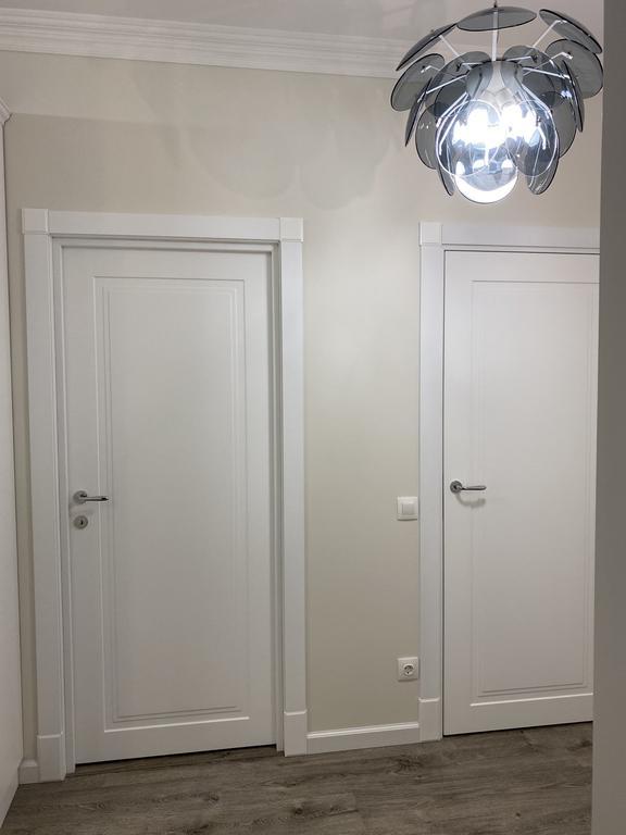 """Межкомнатные двери ТМ """"Ваши двери"""" Модель - UNO 6  Белый матовый"""