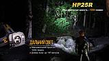 Ліхтар налобний Fenix HP25R, фото 7