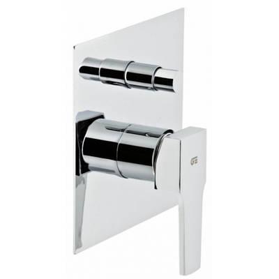 Смеситель скрытого монтажа ванна/душ с переключателем Genebre Kenjo 63116 26 45 66 хром