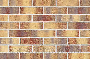 Клинкерная фасадная плитка Rainbow brick (HF15), 240x71x10 мм