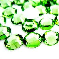 Стразы-эконом Green ss20(5мм).Цена за 100шт.