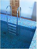 Лестница для бассейна Kripsol Muro 4 ступеньки / AISI 316 / для морской воды, фото 3