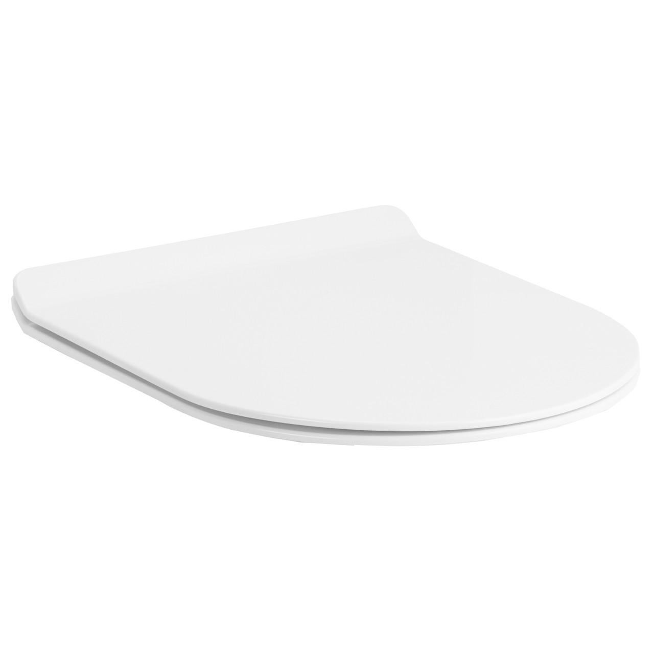 Сиденье для унитаза Slim твердое slow-closing крепление метал Volle Fiesta Rim 13-77-033 белый