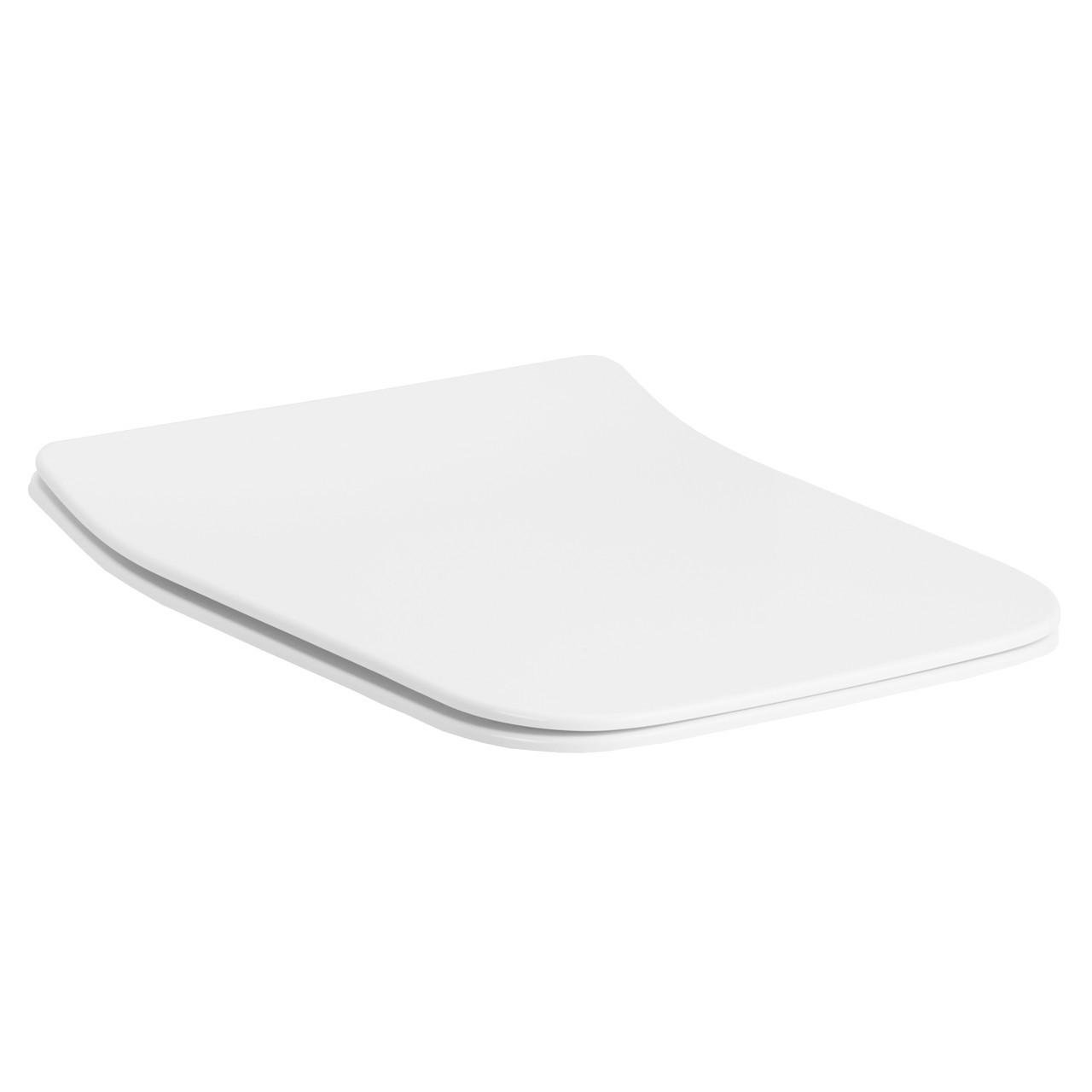 Сиденье для унитаза Slim slow-closing Volle Leon 13-11-162 белый