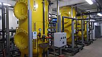 Ионитные фильтры противоточные со средней дренажной системой