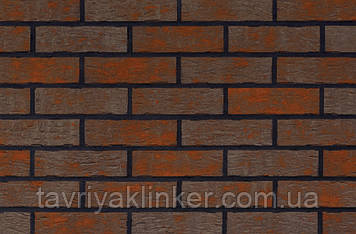 Клинкерная фасадная плитка Red house (HF17), 240x71x10 мм