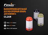 Ліхтар кемпінговий Fenix CL26R чорний, фото 6