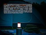 Ліхтар кемпінговий Fenix CL26R чорний, фото 7