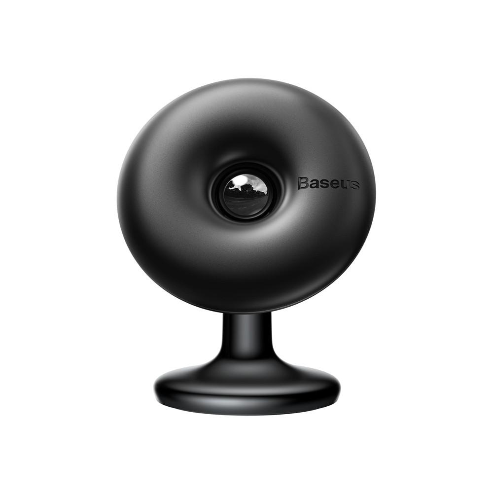 Магнитный держатель телефона в авто Baseus Star Ring Magnetic Car Bracket Paste type Black (SUGENT-HQ01)
