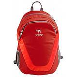 Рюкзак Tramp City 22 (червоний, синій, чорний)  червоний, фото 2
