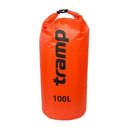 Гермомешок PVC Diamond Rip-Stop 100л Tramp TRA-210-orange