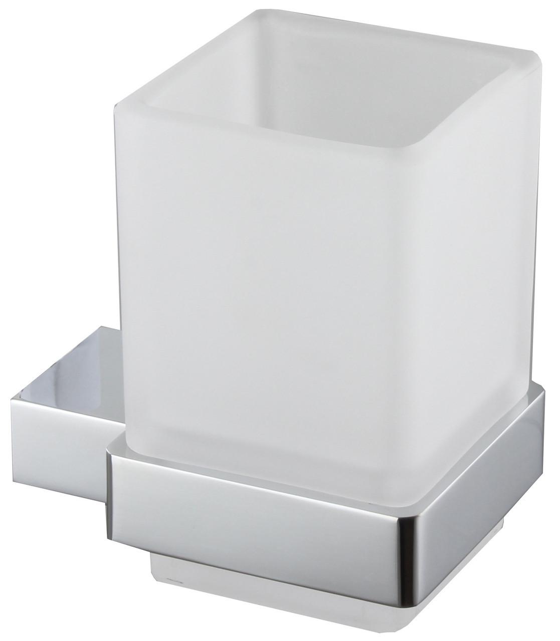 Стакан для зубных щеток Imprese Bitov 120300 хром