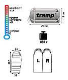 Спальний мішок Tramp Mersey, TRS-019.02 лівий, фото 2