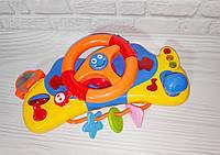 Развивающая музыкальная игрушка на коляску для малышей Многофункциональный Руль