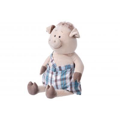 Мягкая игрушка Same Toy Свинка в комбинезоне 60 см (THT705)