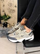 """Кросівки Nike M2K Tekno """"Сірі"""", фото 2"""
