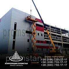 Монтаж быстромонтируемых каркасных зданий БМЗ