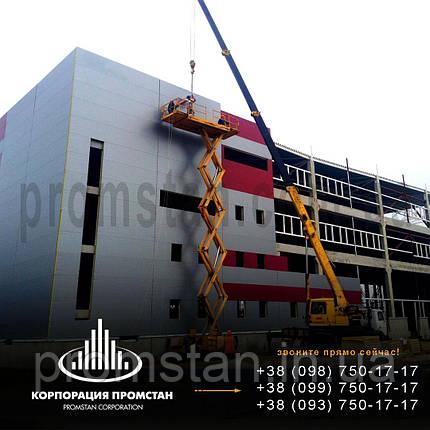 Монтаж быстромонтируемых каркасных зданий БМЗ, фото 2