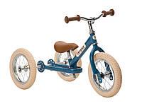 Детский велобег расцветки в ассортименте (белоговел, трехколесный велобег) ТМ Trybike  TBS-2-BLU-VIN