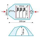 Палатка Tramp Lair 3 v2 TRT-039, фото 3