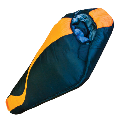 Спальный мешок Tramp Siberia 7000 ХXLчерно/оранж  L TRS-020.02