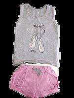 Комплект майка и шорты на рост 92 см,98 (1,2,3 года)