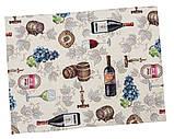 "Наперон\дорожка на стол   ""Вино"", 37х100 см, фото 4"