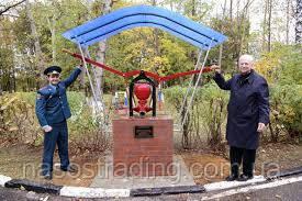 Памятник пожарному насосу появился в Красногорске