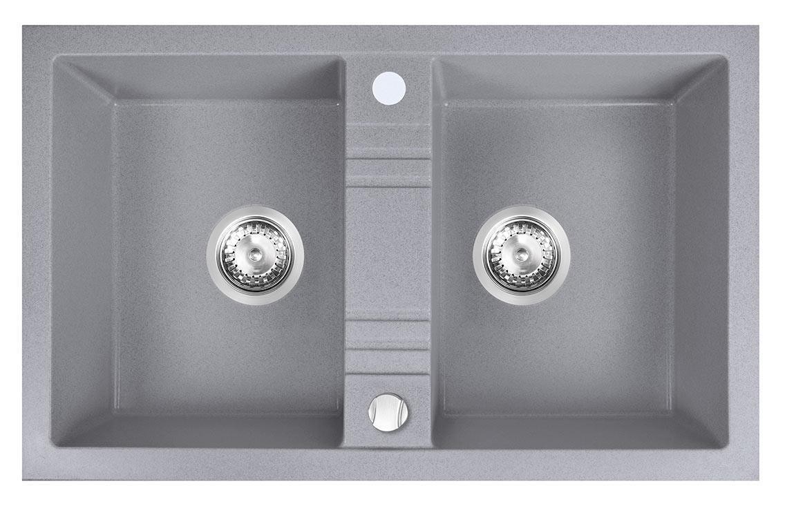 Кухонная мойка Ferro MEZZO II DRGM2/48/78GA