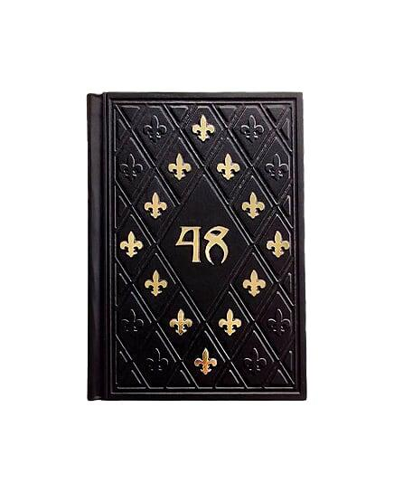 """Книга в шкіряній палітурці """"48 Законів влади"""" Роберт Грін (M0) укр."""