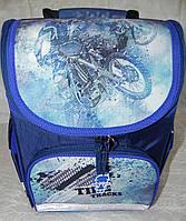Рюкзак школьный каркасный с фонариками Bagland Успех 12л (5513 225 синий 534 ), фото 1