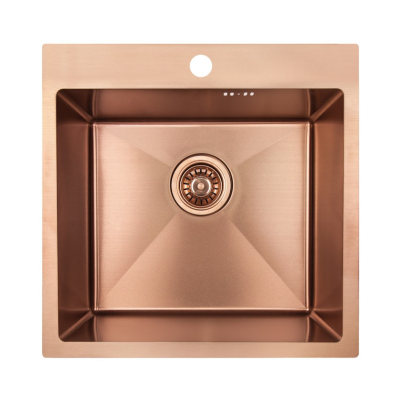 Кухонная мойка Imperial Handmade D5050BR 2.7/1.0 мм (IMPD5050BRPVDH12)