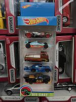 Базовая машинка Hot Wheels, Хот Вилс, хотвилс, hotwheels, набор 5 машинок Подарочный набор машинок реплика