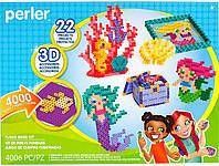 Набор 3D термомозаики для девочек от Американской фирмы Perler. 22 дизайна на тему русалок и океана, фото 1