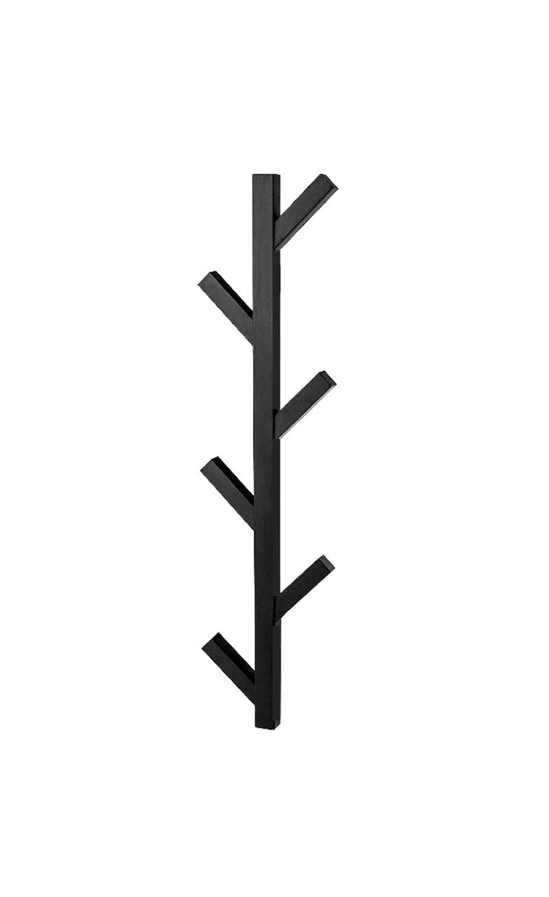 Электрический полотенцесушитель Genesis-Aqua Albero 100 см черный