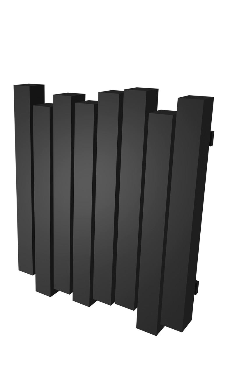 Радиатор отопления Genesis-Aqua Wave 60x100 см черный