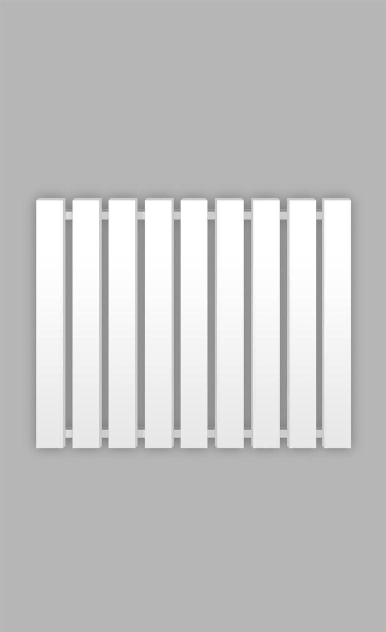 Полотенцесушитель Genesis-Aqua Batteria 80x60 см белый