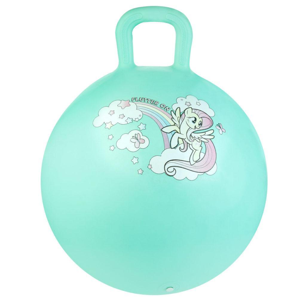 Мяч-прыгун детский с ручкой Spokey My Little Pony 45см 927215, детский фитбол, гимнастический мяч для фитнеса