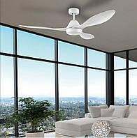 """Світильник з вентилятором стельовий EGLO 35015 1Х18W LED білий """"Антібес"""""""