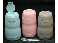 Пищевой термос T144-13 400мл , ланчбокс для еды,компактный пищевой термос! Скидка
