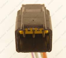 Разъем автомобильный 10-pin/контактный. Папа. 25×22 mm. Б.У