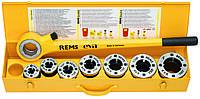 """Ручний різьбонарізний клуп REMS Єва R ⅜ - ½ - ¾ - 1-1¼"""" В картоні, фото 1"""