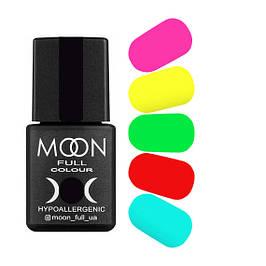 Moon Full основная палитра гель-лак, 8 мл